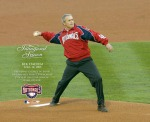 George W. Bush, Opening Day, first pitch for Washington Nationals since move from Montreal, 2005