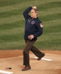 George W. Bush, World Series Game 3, 2001